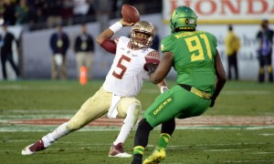 USP NCAA FOOTBALL: ROSE BOWL-FLORIDA STATE VS OREG S FBC USA CA