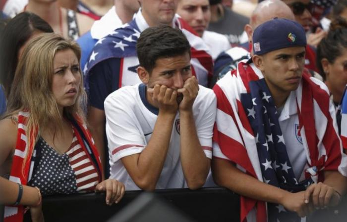 Sad USA