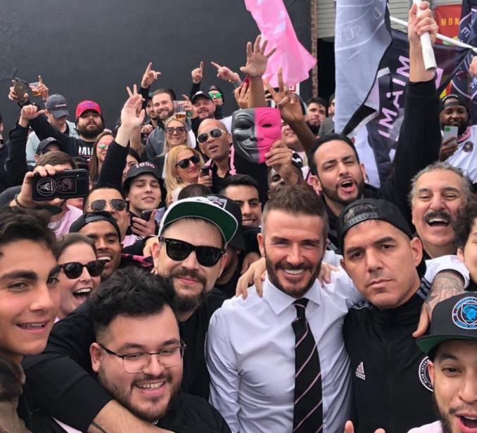 Inter Miami Fans Game 1